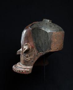 Pende Helmet Mask, Democratic Republic of Congo