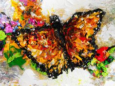 Butterfly Mist Original Painting