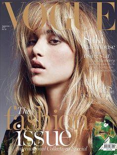 Vogue Thailand September 2015 | #SukiWaterhouse by Marcin Tyszka #VogueCovers #TheSeptemberIssue