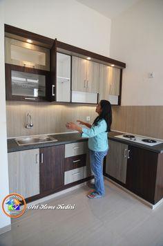 Room Door Design, Door Design Interior, Kitchen Room Design, Home Room Design, Home Design Plans, Modern Kitchen Design, Kitchen Interior, Wall Unit Designs, Kitchen Modular