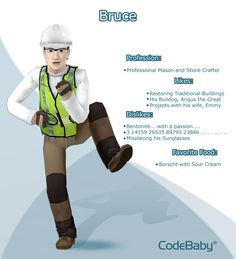 Bruce! #CodeBaby #CIVA #VirtualAssistant #FeaturedCharacter #crafter
