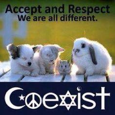 Coexist...