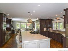 221 Mountain Road, Glastonbury, CT.  Wonderful spacious kitchen! Contact Margaret.wilcox@raveis.com to check it out!