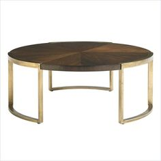 Crestaire-Autry Round Cocktail table in Porter - 436-15-01