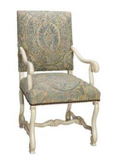 BLUE ORSINI ARM CHAIR. Arm Chairs