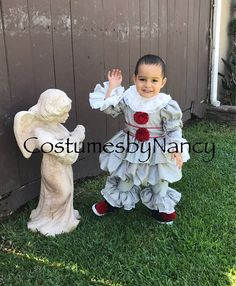 2t Ready to Ship Children's Clown Costume Jesster