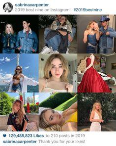 @sabrinacarpenter #2019bestnine Best Nine, Sabrina Carpenter, Movies, Movie Posters, Instagram, Film Poster, Films, Popcorn Posters, Film Posters