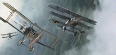After shooting down a No. 57 Squadron DH 4 bomber on 23 September, he went out on a further patrol and was engaged by six Royal Aircraft Factory S.E.5s of the elite 56 Squadron. Voss fought an epic...