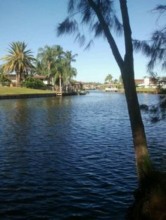 Merritt island river