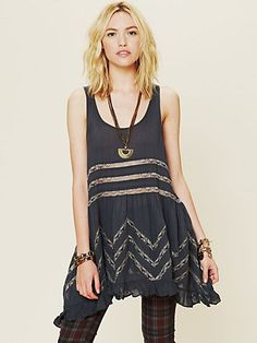 Voile Trapeze Slip $88 from free people