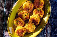 Vegetarian meatballs in the Indian Veggie Recipes, Indian Food Recipes, Vegetarian Recipes, Healthy Recipes, Ethnic Recipes, Veggie Food, Healthy Food, Indiana, Vegetarian Meatballs