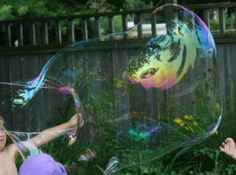 Big, Giant Bubble Recipe