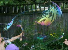 Gigantic Bubble Recipe   Treehouse Parents
