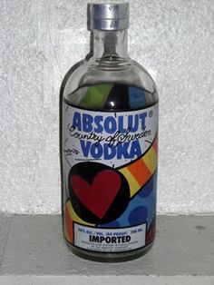 I love Absolut bottle