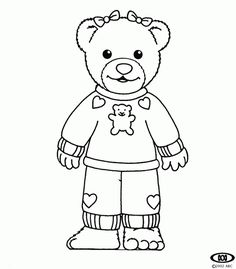 Bananas in Pyjamas Coloring Pages Free Printable Pictures Sheets
