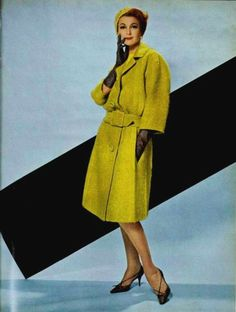 Mohair Coat By Christian Dior - 1962    L'Art Et La Mode No.1