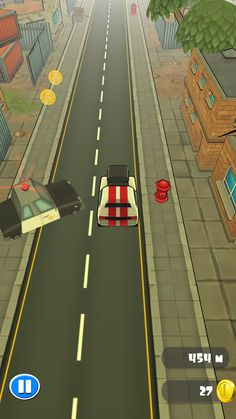 The Getaway is a high-speed car chase game where the goal is to avoid getting caught by the police.