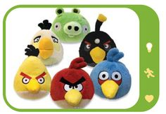 Angry Birds Plush.  If you ask me, I'd say these are ageless. Everyone loves Angry Birds!