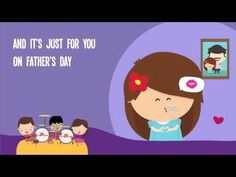 On Father's Day Song with Lyrics for Kids | Happy Father's Day Song for Children - YouTube