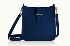 Crossbody Bags We Don't Want Leaving Our Side #refinery29  http://www.refinery29.com/crossbody-purses#slide-3  Because, we can imagine Grace Kelly prancing around town with this on her hip.