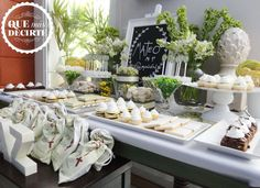 Comunion en verde Comunion Party Ideas | Photo 7 of 25