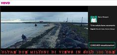 In soli 4 giorni il nuovo video di Marco Mengoni raggiunge i 2 milioni di visualizzazioni.