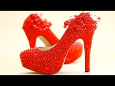 Kids World: Awesome Red High Heel Shoes & Pumps Boots for Girl...