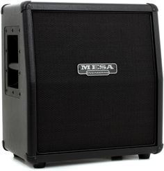 1 x 12' Guitar Extension Cabinet, with Angled Front, 60-watt Power Handling, and Slip Cover - Black Tolex with Black Grille Cloth