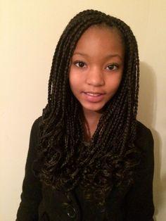crochet braids for little girls - Google Search Little Girl Box Braids, Kids Box Braids, Long Box Braids, Black Girl Braids, Girls Braids, Children Braids, Crochet Braids Hairstyles For Kids, Kids Braided Hairstyles, Box Braids Hairstyles