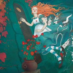 ALICE IN WONDERLAND BY DAGMARA GASKA