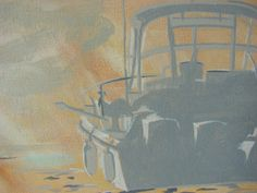 boat in the clouds #painting #acrylic