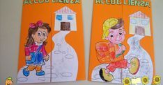 Idee e proposte didattiche per lo sviluppo e l'apprendimento. Risorse per insegnanti, educatori, genitori e Bambini Interactive Notebooks, Montessori, Scooby Doo, Crafts For Kids, Education, Learning, School, Fictional Characters, Cornice