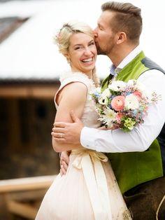 Boho auf Bayrisch - Styled Shooting mit tollem Brautdirndl