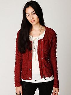 Lace Zip Jacket #freepeople #fashion