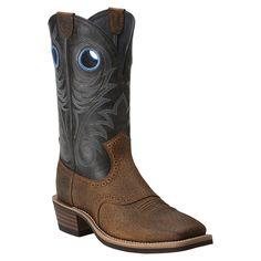 Ariat Men's Heritage Roughstock Western Boots Vintage Black