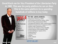 Did you know this? Make sure everyone you know is made aware of just who this Koch-sucker of a robber baron is and what he stands for...  [via fb.me/MemeGOP]