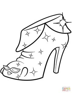 Limited Edition Angie Ankle Boot Shopkins Season 2 Coloring Pages Printable And Book To Print For Free Find More Online Kids