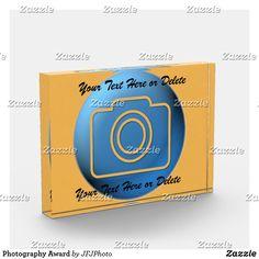 Shop Photography Award created by JFJPhoto. Award Certificates, Photography Awards, Award Display