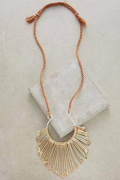 Marimbula Necklace #anthropologie