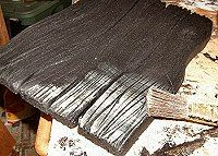 Fake Wood From Foam Boards.great idea for villages Halloween Village, Halloween Crafts, Pirate Halloween, Halloween Decorations, Samhain, Foam Board Crafts, Styrofoam Crafts, Up House, Stage Design
