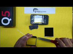 Reparar pantalla táctil Blackberry Q5.