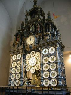astronomical clock of the cathedral of Saint-Jean, in Besançon, France. Installed in 1860, it is one of the most complicated horological devices in the world.