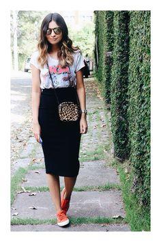 5 tipos de faldas que son imprescindibles en tu armario  TiZKKAmoda  casual   falda bcadbf249e68