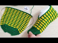 Crochet Slipper Pattern, Crochet Slippers, Crochet Men, Cotton Thread, Knitting Socks, Beautiful Day, Fingerless Gloves, Arm Warmers, Free Pattern