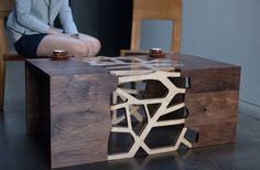 Coffee Table Design by Gradient Matter Inspired by Human Emotions