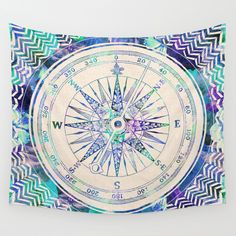 http://www.2uidea.com/category/Tapestry/ Follow+Your+Own+Path+Wall+Tapestry+by+Bianca+Green+-+$39.00