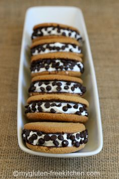 S'mores Sandwich Cookies (gluten-free, dairy-free) No one will guess these no-bake cookies are allergy friendly!