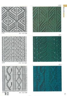 don& knit empty squares . Cable Knitting Patterns, Knitting Charts, Lace Knitting, Knitting Stitches, Knitting Designs, Knitting Needles, Knit Patterns, Knitting Projects, Stitch Patterns