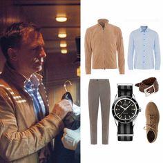 Estilo James Bond, James Bond Style, Daniel Craig Style, Daniel Craig James Bond, James Bond Outfits, James Bond Clothing, Business Casual Men, Men Casual, Casual Outfits