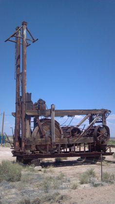Wooden drilling rig, near Carlsbad NM (1836 X 3264) OC - Imgur
